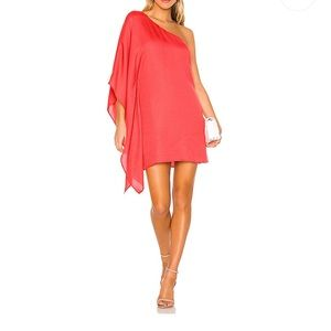 Cupcakes and Cashmere dress cape sleeve cocktail